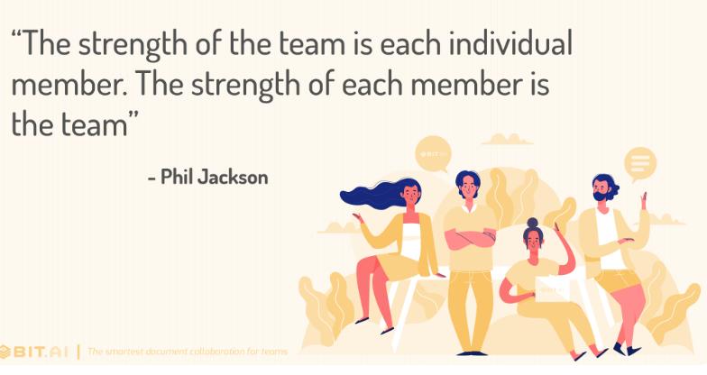 Teamleden vertellen over het succes van een goed team